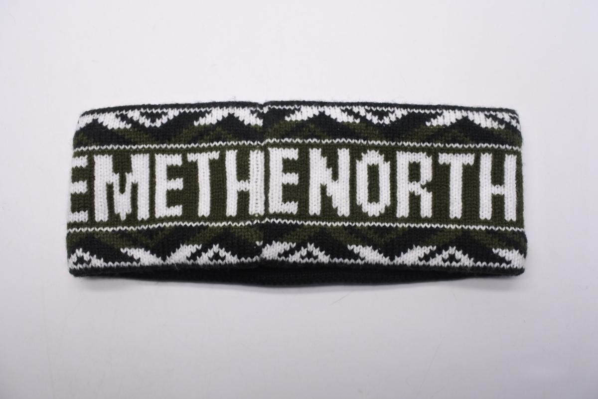 17SS Supreme x The North Face Trans Antarctica Expedition Headband シュプリーム ノースフェイス ヘアバンド 中古 美品 正規品_画像2