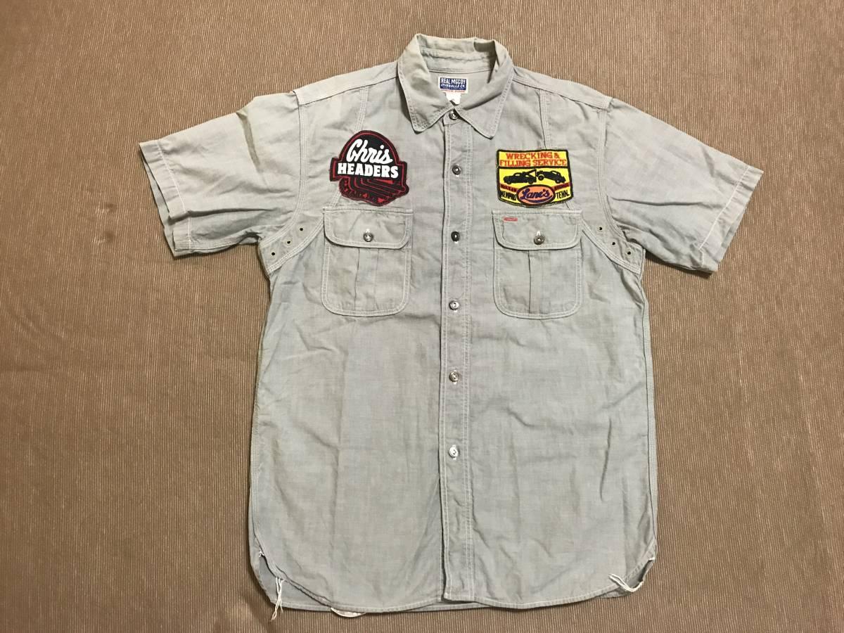 THE REAL McCOY'S 半袖 シャツ 15 リアルマッコイズ /検 buco トイズマッコイ_画像1