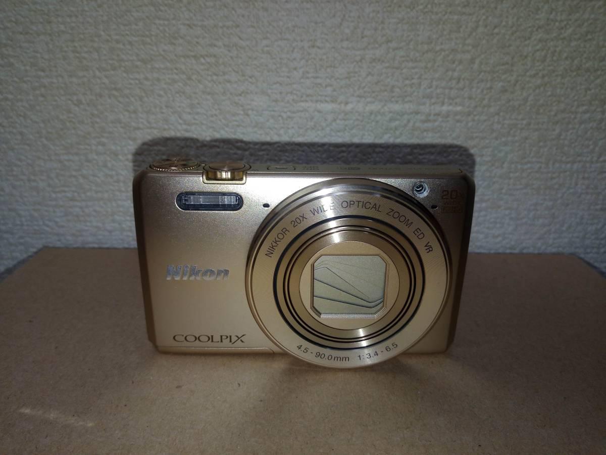 1円スタート!! Nikon COOLPIX S7000 ゴールド