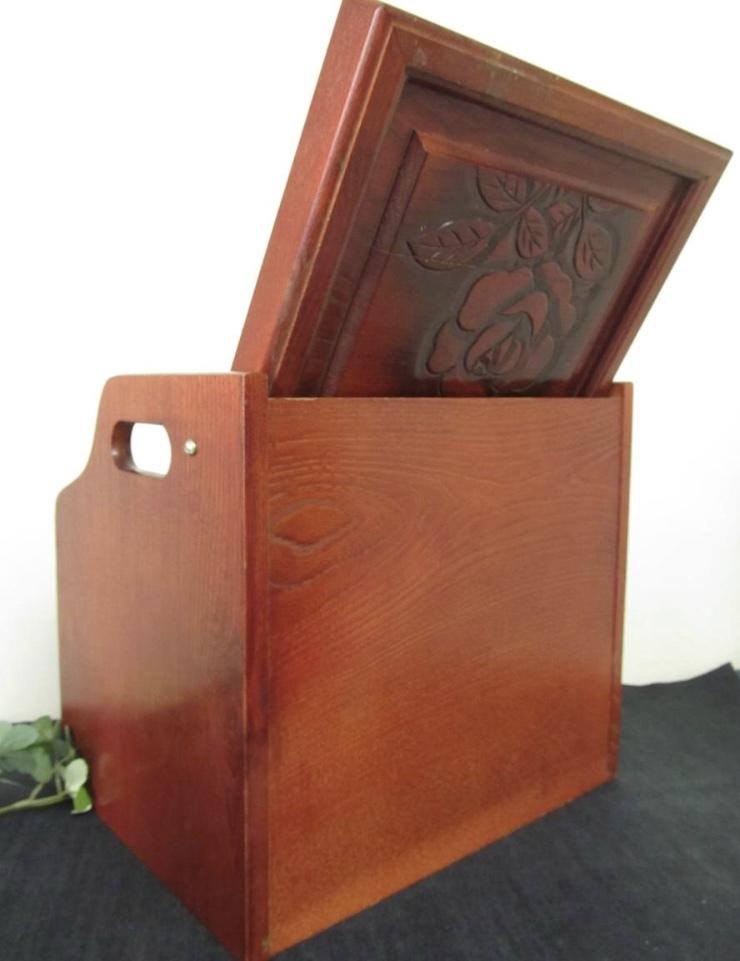卓上ドレッサー 昭和レトロ 小物入れ 木製 コンパクト メイクボックス 収納 古道具 引き出し アンティーク_画像10