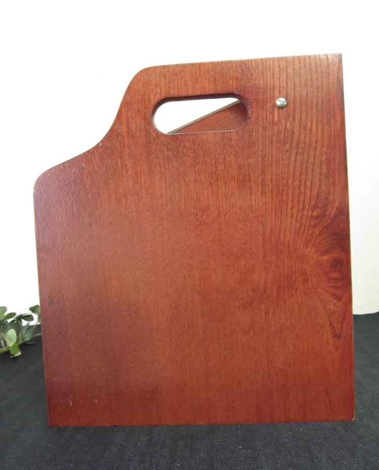 卓上ドレッサー 昭和レトロ 小物入れ 木製 コンパクト メイクボックス 収納 古道具 引き出し アンティーク_画像8