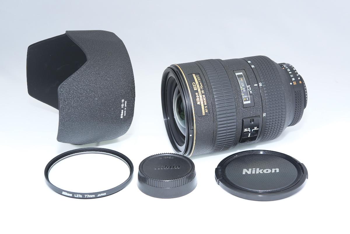 【鳴き無し極美品】 Nikon ED AF-S NIKKOR 28-70mm F2.8D