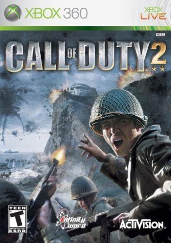 海外限定版 海外版 Xbox 360 コール オブ デューティ2 Call of Duty 2_画像1