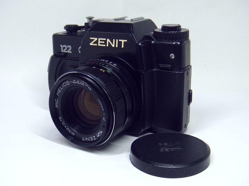 zenit 122 一眼レフカメラ レンズ mc helios 44m 4 58mm 1 2 m52 0 75