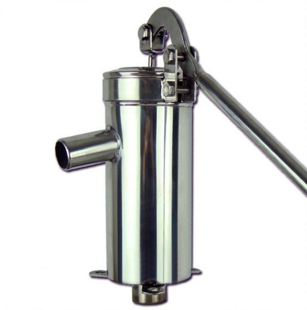 安心1年保証 ステンレス製 手押しポンプ 取扱説明書付 井戸用 排水 取水_画像5