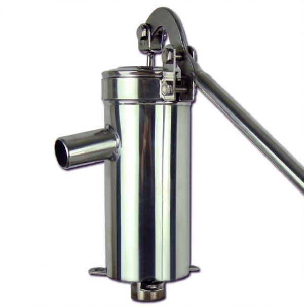 安心1年保証 ステンレス製 手押しポンプ 取扱説明書付 井戸用 排水 取水 畑 お庭 水やり_画像5