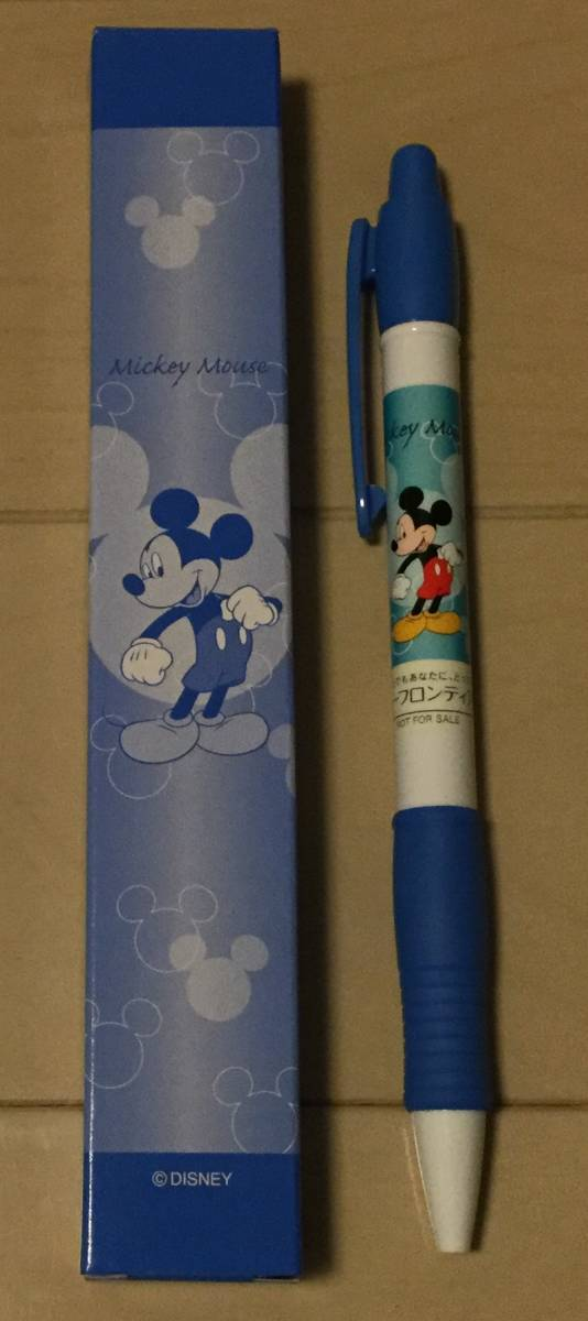 最新 非売 ボールペン ディズニー ミッキー 美品 第一フロンティア生命 箱入り_画像1