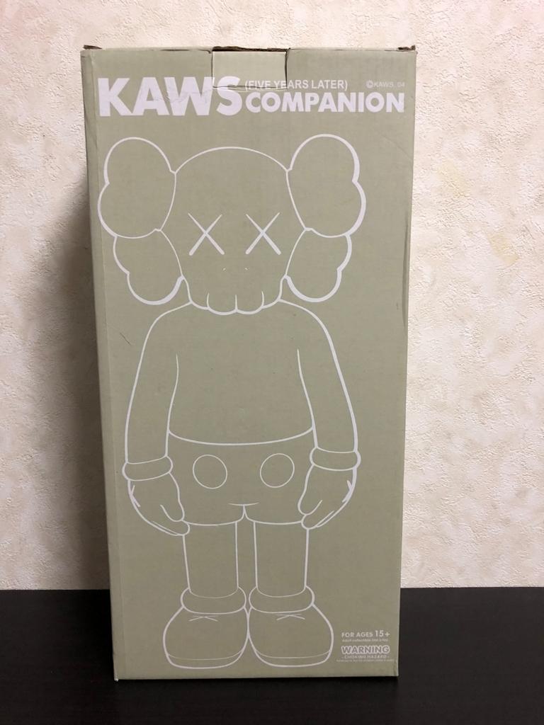 激レア 正規品 KAWS COMPANION FIVE YEARS LATER 希少品 元箱あり デッドストック 未使用 メディコムトイ 2007_画像1