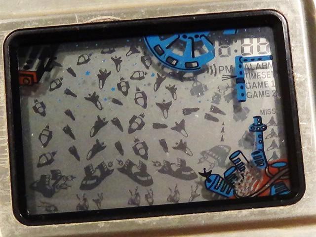 GAME & TIME スペースバトル spase battle Matsushima 日本製 レトロ ゲーム lsi lcd おもちゃ 原田企画 希少 電子ゲーム 動作品_画像1