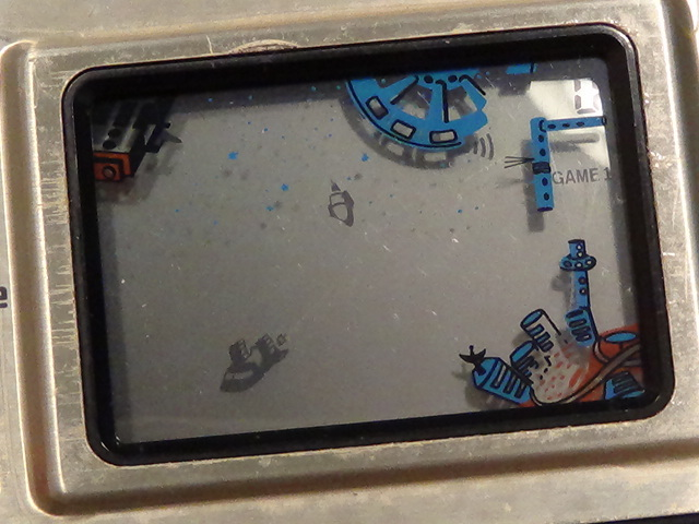 GAME & TIME スペースバトル spase battle Matsushima 日本製 レトロ ゲーム lsi lcd おもちゃ 原田企画 希少 電子ゲーム 動作品_画像4