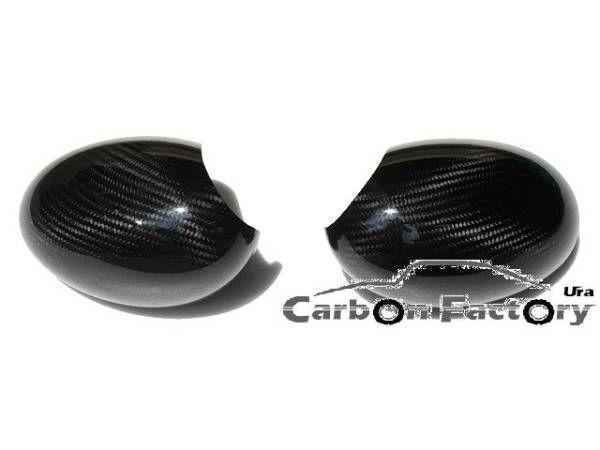 ●BMW ミニ 06~13年R55/R56/R57/R58/R59/R60/R61用リアルカーボンミラーカバーセット/ドアミラーカバー/サイドミラー/バックミラー/MINI_画像6