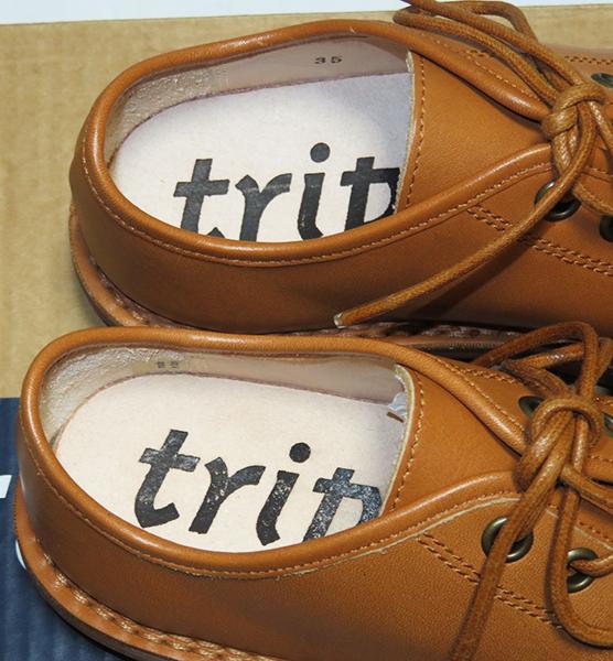 trippen トリッペン TODI レースアップシューズ 35 新品 トゥーディー レザー_画像3