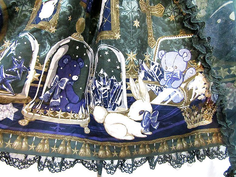 Angelic Pretty メルカトル骨董品店ワンピース ジャンパースカート アンジェリックプリティ