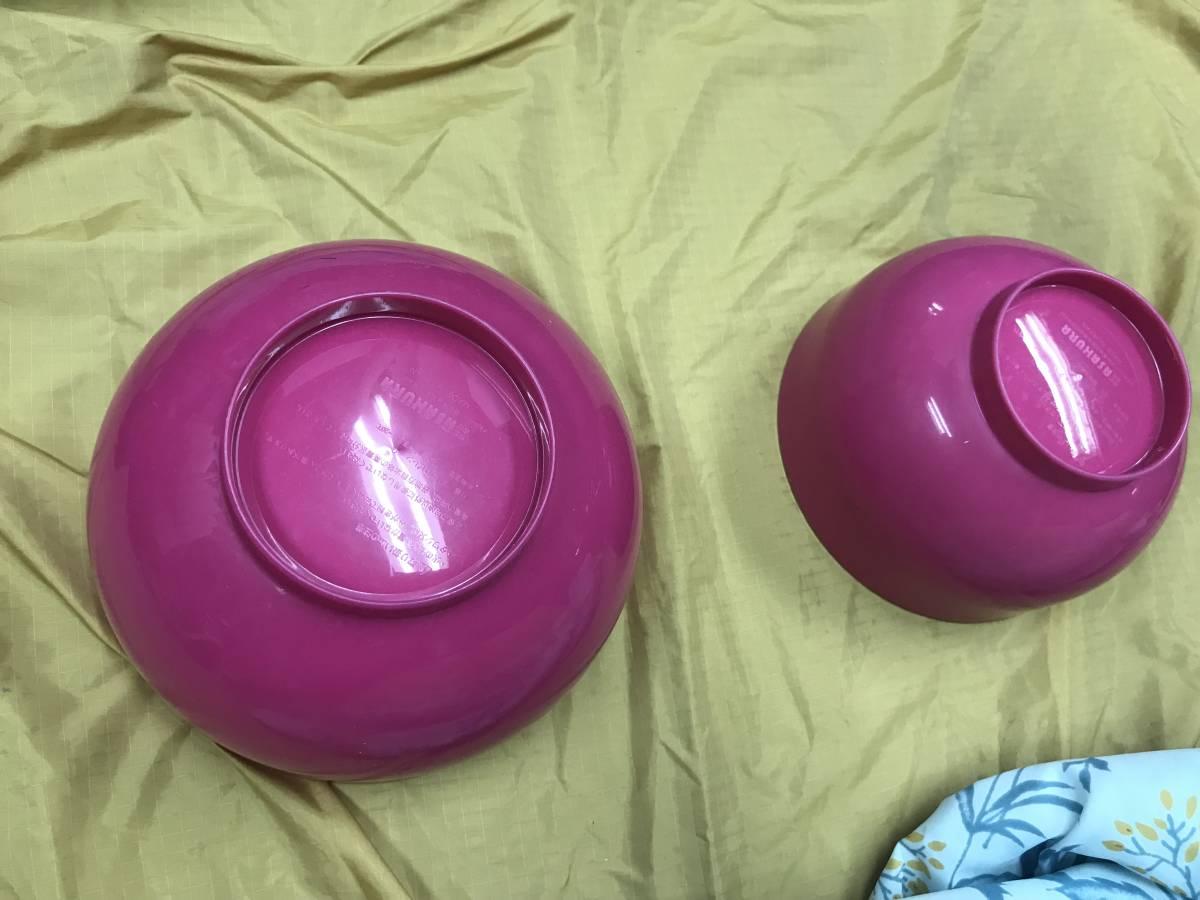 ピクニック キャンプ アウトドア プラ製の食器セット USED 美品_画像5