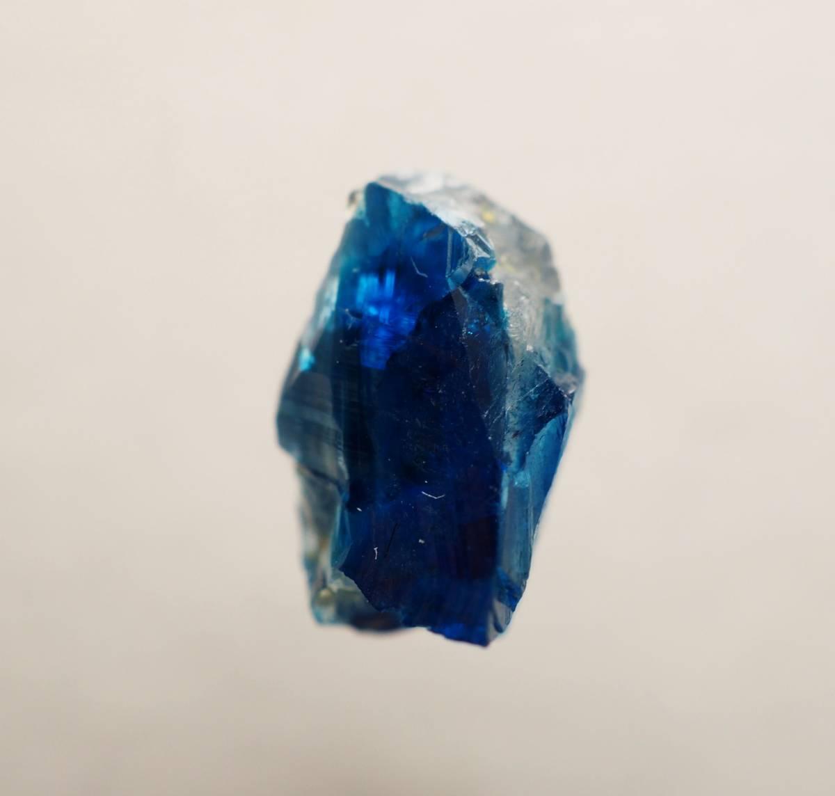 宝石質 ジンバブエ産 ユークレース ハイグレード 深く透明なブルーライン_画像9