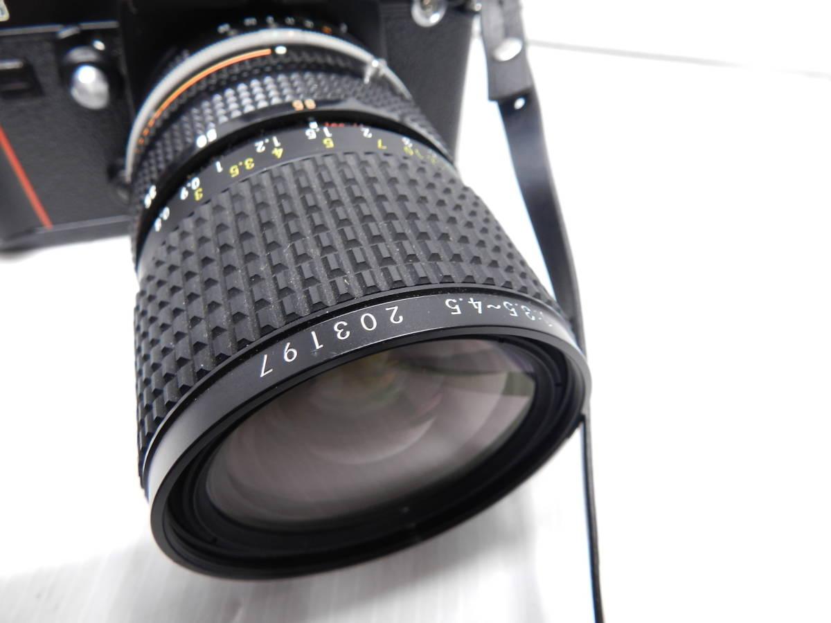 動作品!!/NIKON ニコン/F3 ボディ/レンズ ZOOM NIKKOR 28-85mm f3.5-4.5 Ai-S/MF 一眼レフカメラ/プリズム綺麗/取説付属!!/管C831_画像4