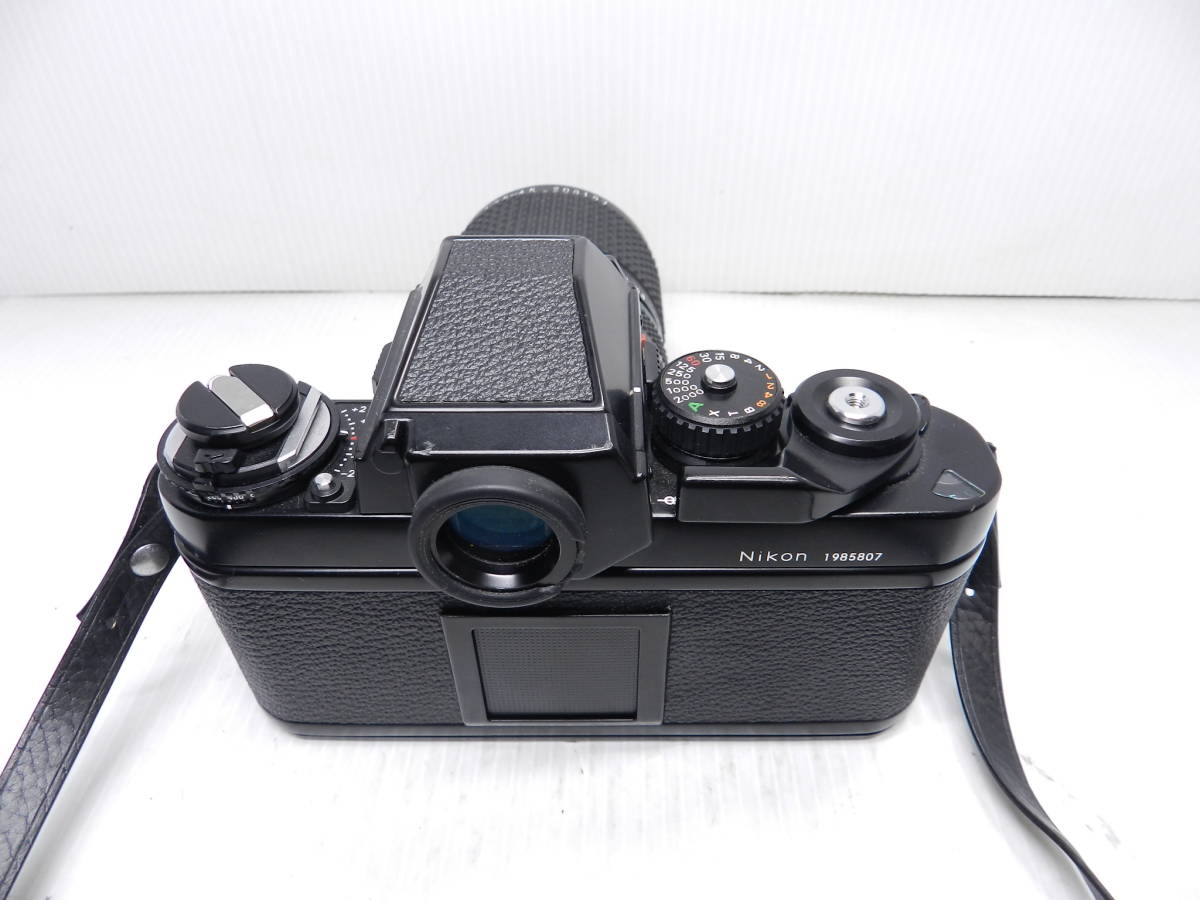 動作品!!/NIKON ニコン/F3 ボディ/レンズ ZOOM NIKKOR 28-85mm f3.5-4.5 Ai-S/MF 一眼レフカメラ/プリズム綺麗/取説付属!!/管C831_画像10