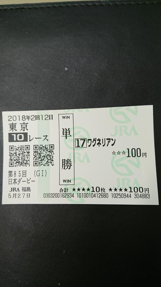 第85回日本ダービー(ワグネリアン&福永騎手)_画像1