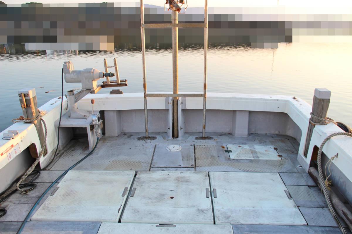 ヤンマー DE43F(あらしお) エンジンはいすゞUM6SD1TC搭載 平成8年進水_画像7