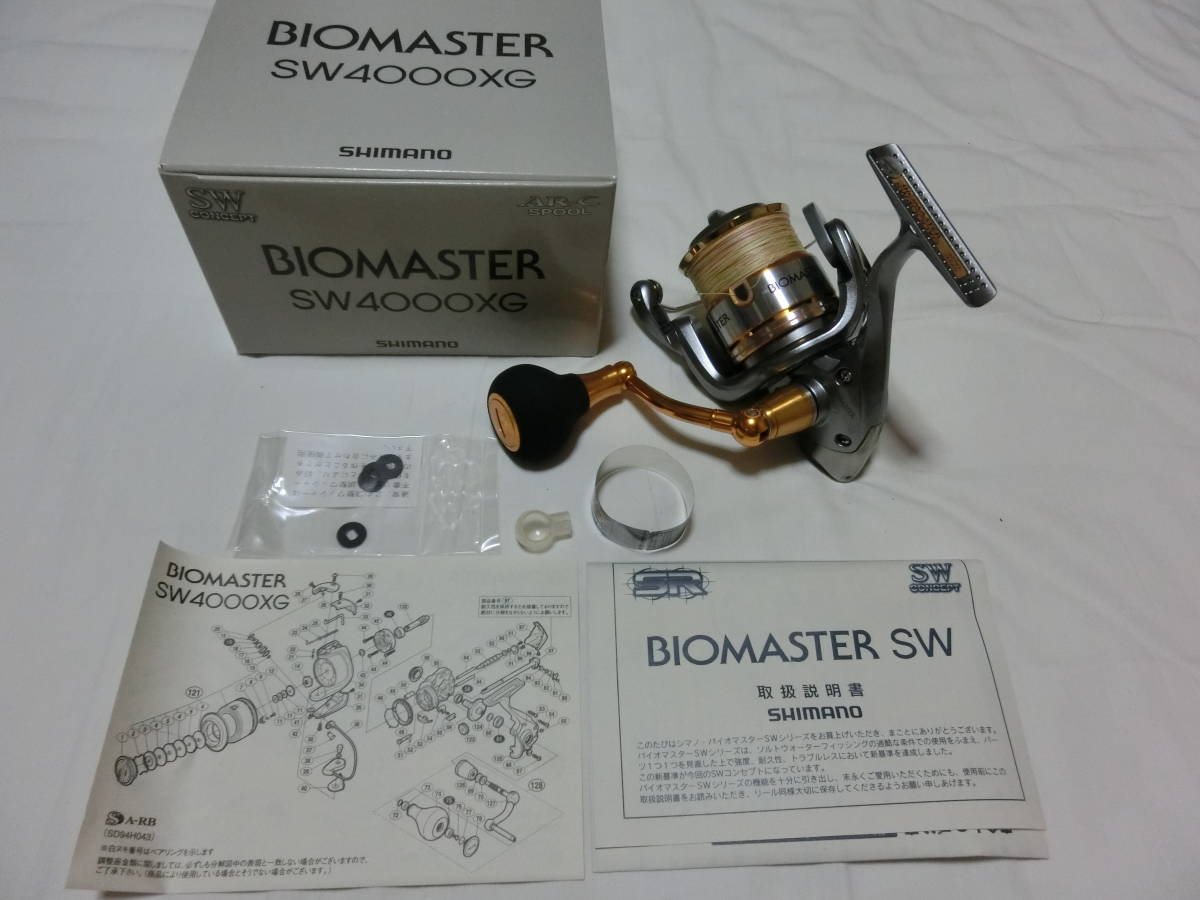シマノ shimano 10バイオマスターSW 4000XG 美品