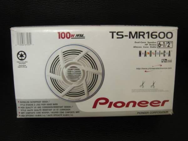 2WAYスピーカー防水 マリン用 PIONEER 16cm 新品 TS-MR1600_画像1