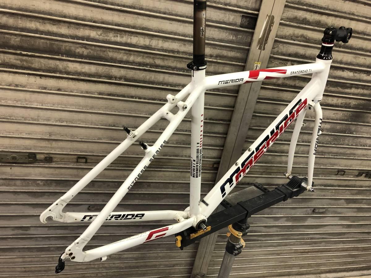 MERIDA メリダ GRANDROAD T1 700c クロスバイク アルミフレーム _画像3