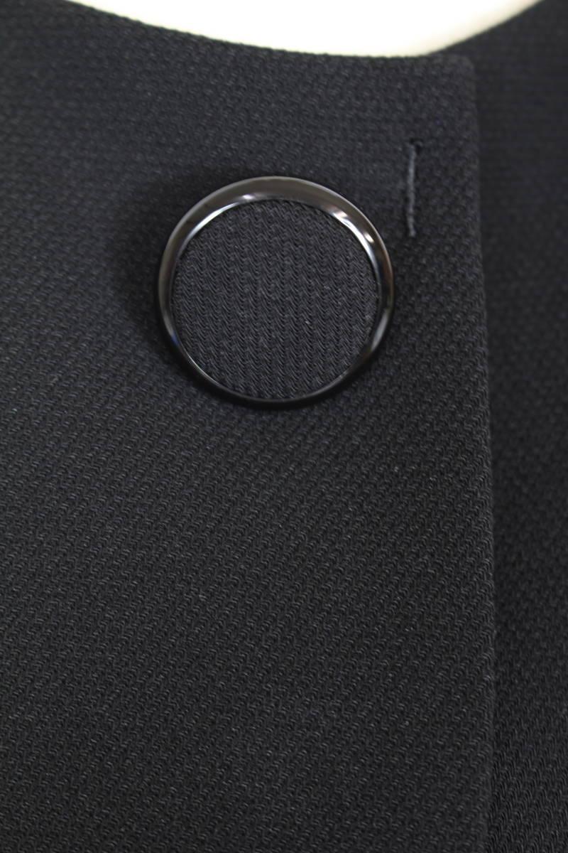 新品 5.7万円 9号 ミッシェルクラン アンサンブル ラピーヌ 卒業式 礼服 喪服 レディース 黒 スーツ ブラックフォーマル_画像9
