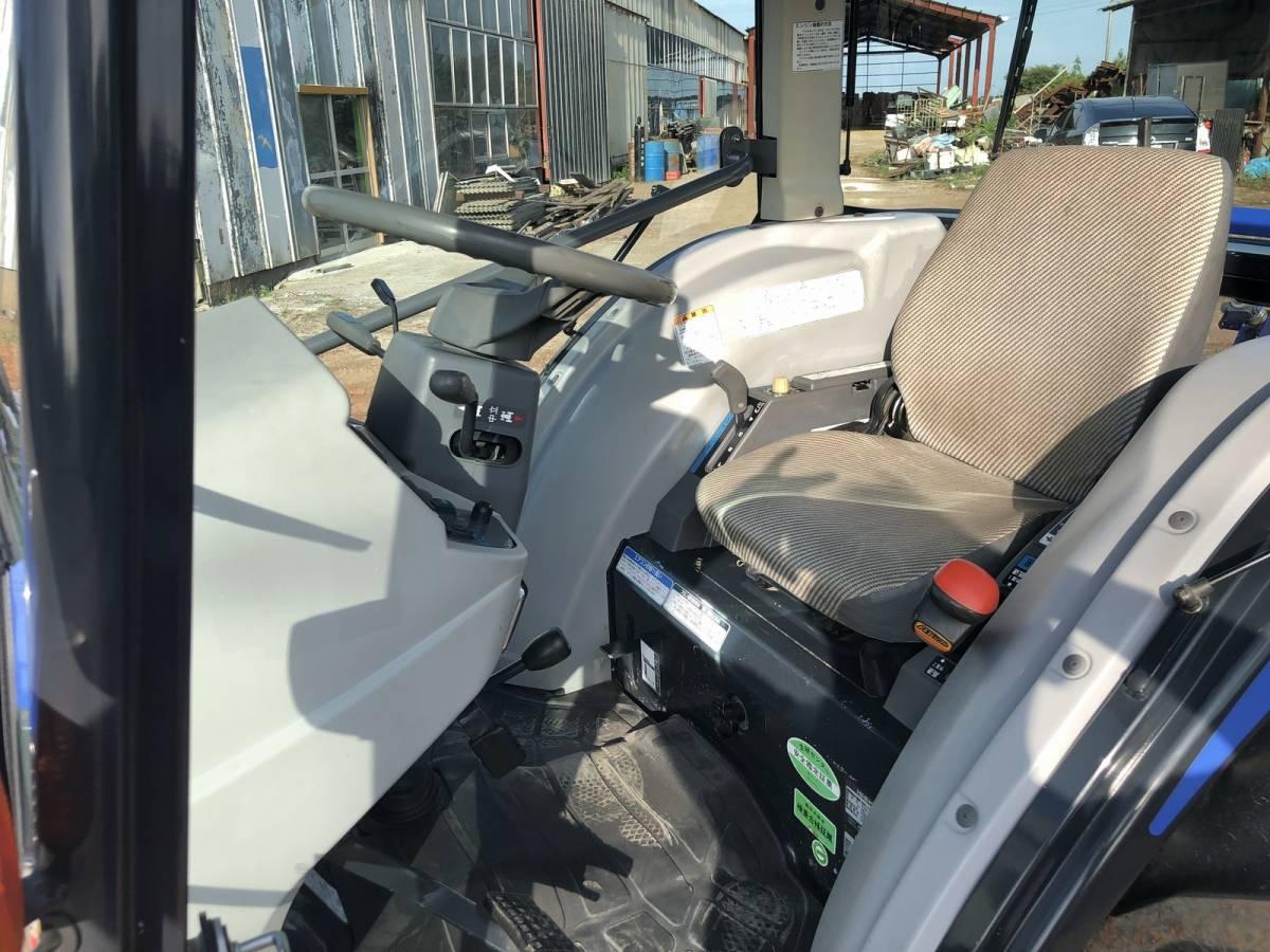 イセキ GEAS AT33 乗用型トラクター 4WD エアコンキャビン 33馬力 純正ロータリー付 電子カタログと取扱説明書_画像6