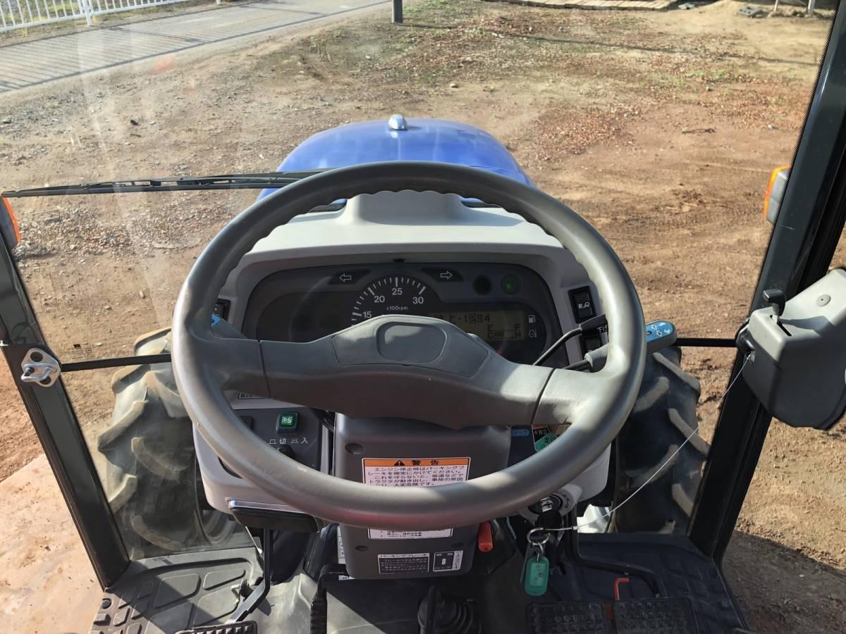 イセキ GEAS AT33 乗用型トラクター 4WD エアコンキャビン 33馬力 純正ロータリー付 電子カタログと取扱説明書_画像10