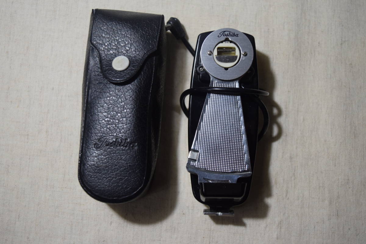 i... san selling out rare old camera parts folding type strobo flash