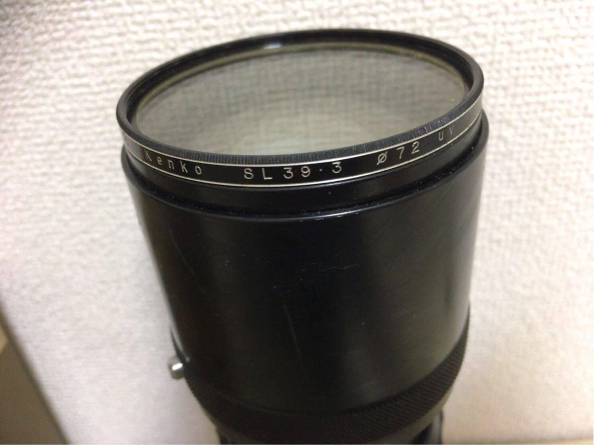 NIKON ニコン F カメラ 一眼レフ マニュアルフォーカス 1:1.4 f=50mm レンズ NIKKOR-H 1:4.5 f=300mm オートフォーカス AYO10_画像6