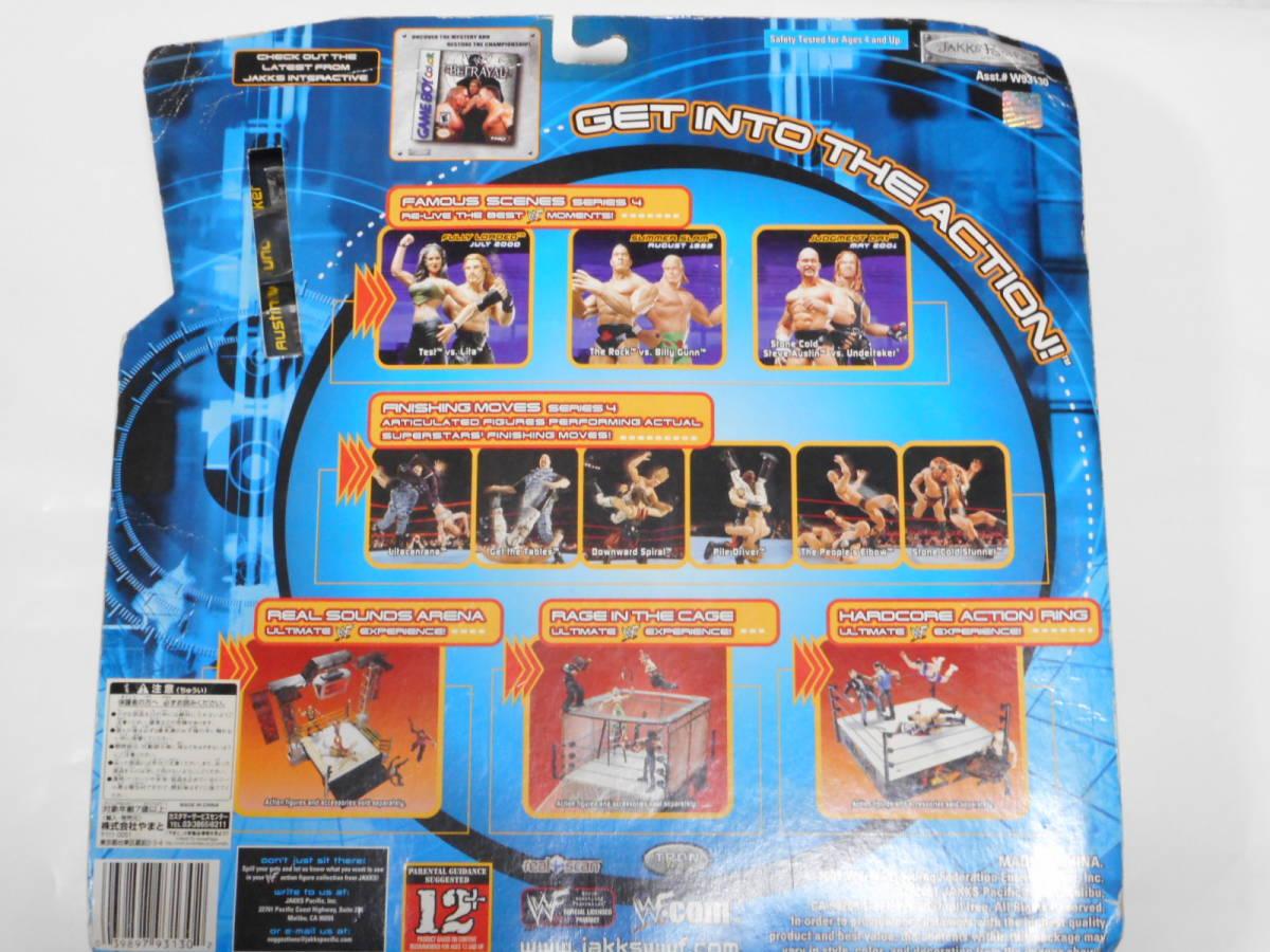 ジャッチメント・デー2001 ストーンコールドVSアンダーテイカー WWFフィギュア2体セット _画像5
