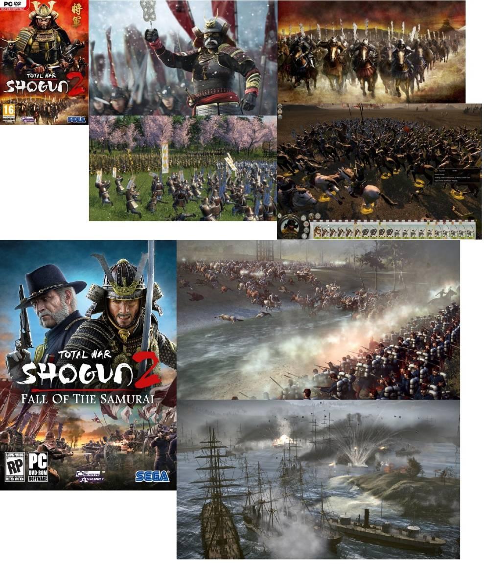 Total War Shogun 2 将軍 2 + Fall of the Samurai + DLC 7個 Steam Code 日本語可_画像2