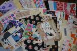 tekutekuevent - 千代紙 木版など 昭和レトロ まとめて 約100枚 大量