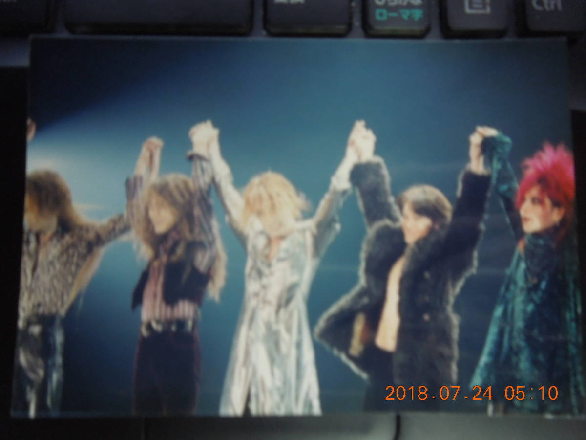 X JAPAN ブロマイド 写真 ⑥ / YOSHIKI TOSHI Toshl HIDE PATA HEATE_画像1