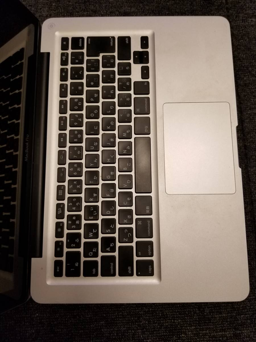【メモリ16GB,SSD240GB】MacBook Pro 13inch Late2011 (A1278 i5 16GB 240GB )_画像3