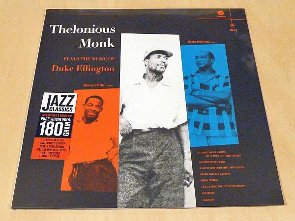 セロニアス・モンクThelonious Monk Plays The Music Of Duke Ellington限定リマスター180g重量盤未開封LPボーナス1曲追加Oscar Pettiford_未開封限定180g重量盤LPアナログレコード
