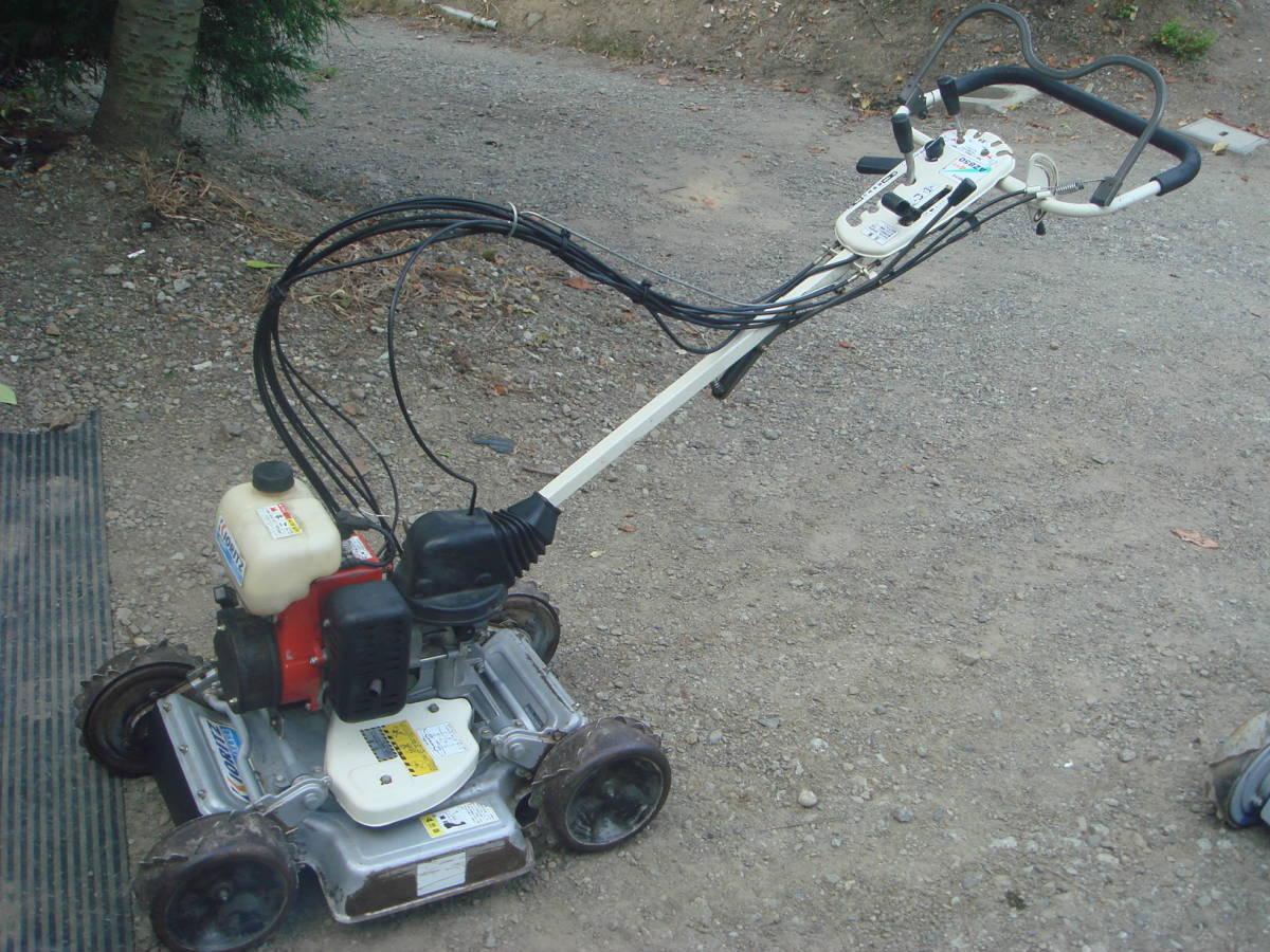 オーレック スパイダーモア SP850 4WD 実働中古 新品刃付属 動作点検済