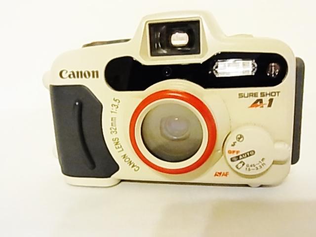 美品 動作確認済 防水フィルムカメラ Canon SURE SHOT A1 オートボーイ D5 35mmレンズシャッター式カメラ_画像8