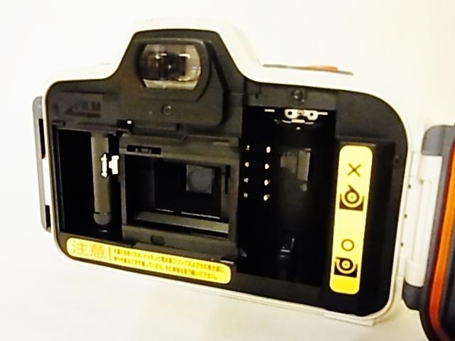 美品 動作確認済 防水フィルムカメラ Canon SURE SHOT A1 オートボーイ D5 35mmレンズシャッター式カメラ_画像2