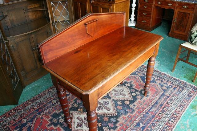 イギリスアンティーク家具 デスク アンティークデスク ビクトリアン/デスク 机 テーブル 英国製 s33a_画像5