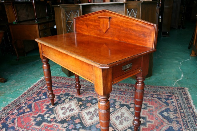イギリスアンティーク家具 デスク アンティークデスク ビクトリアン/デスク 机 テーブル 英国製 s33a_画像7