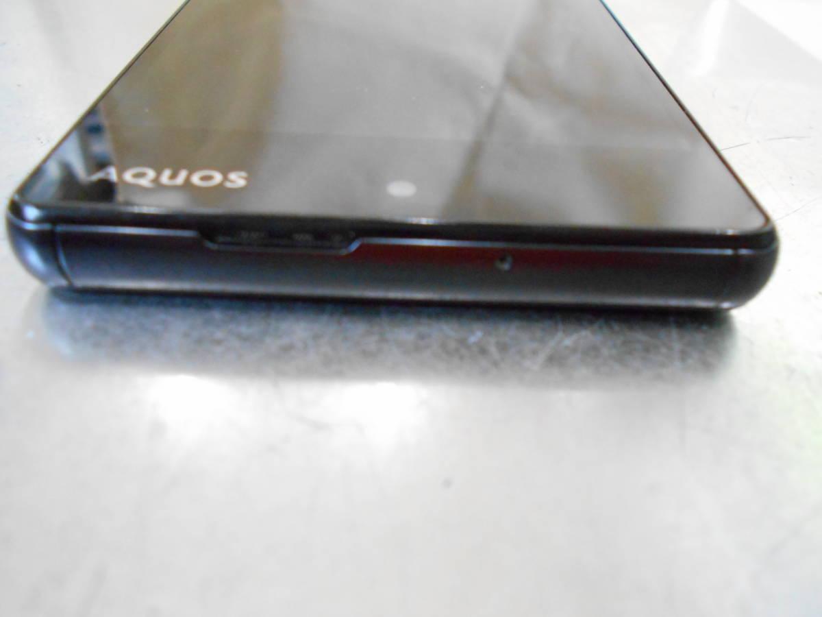 SoftBank ソフトバンク Sharp シャープ 503SH アクオスAQUOS Xx2 mini ブラック 判定◯ 中古スマホ 傷擦れ等有_画像8