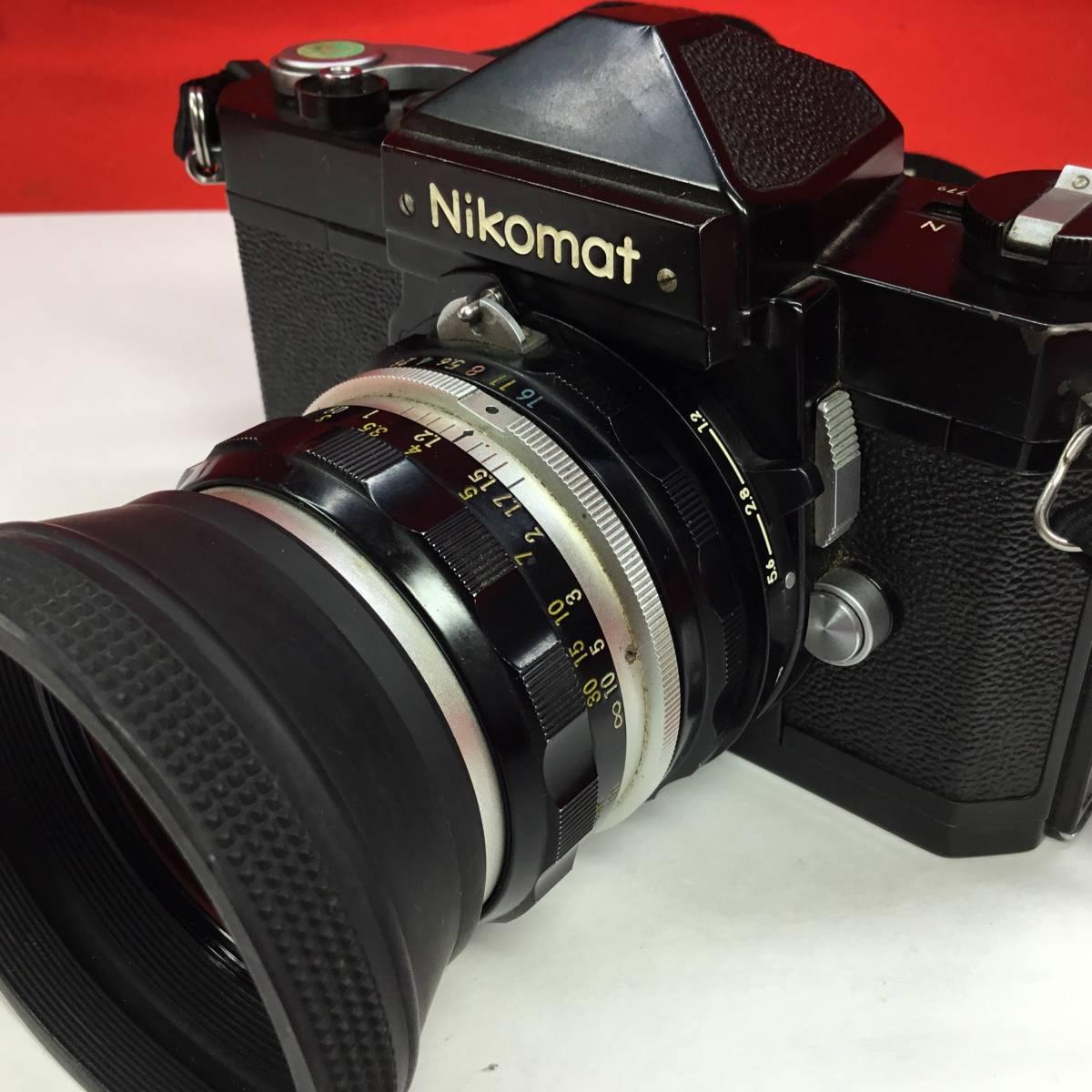 一眼レフカメラ Nikomat FT レンズ Nikon NIKKOR-H Auto 1:2 f=50mm ニコマート