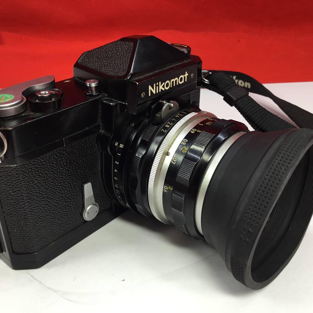 一眼レフカメラ Nikomat FT レンズ Nikon NIKKOR-H Auto 1:2 f=50mm ニコマート_画像2