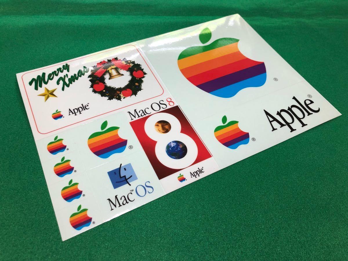 ☆.激レア・:* Apple Computer Mac OS 8 発売記念 1997 クリスマス シール Merry X'mas Seal ☆.・:* Xmas表記が間違っている貴重なシール_画像1