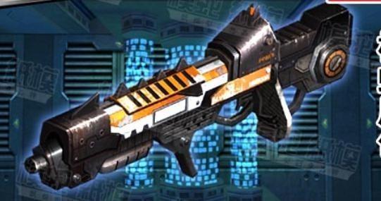 模型 ペーパークラフト 高級防水紙 工作 銃 90cm_画像1