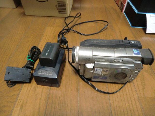 日立 DVDビデオカメラ DZ-MV100 ジャンク品