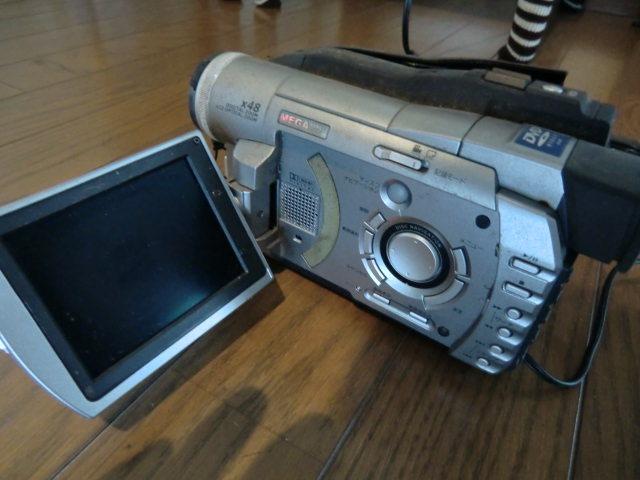 日立 DVDビデオカメラ DZ-MV100 ジャンク品_画像4