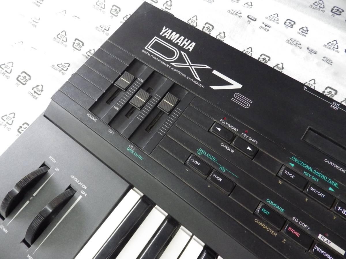 YAMAHA ヤマハ シンセサイザー DX7S 電池交換済 中古品 _画像4